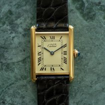 Cartier Tank Vermeil 590005 1990 occasion
