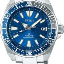 Seiko Prospex Aço 43.8mm Azul Sem números