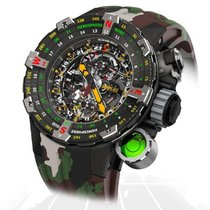 Richard Mille Carbon 51mm Automatic RM25-01 CA new