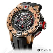Richard Mille RM 032 Rose gold 50mm Transparent Arabic numerals