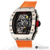 Richard Mille RM 027 47mm Transparent Keine Ziffern