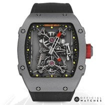 Richard Mille RM 027 Carbon 47mm Transparent Keine Ziffern