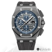 Audemars Piguet 26405CG.OO.A004CA.01 Titane Royal Oak Offshore Chronograph 44mm nouveau