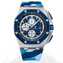 Audemars Piguet Royal Oak Offshore Chronograph 26400SO.OO.A335CA.01 Ungetragen Stahl 44mm Automatik