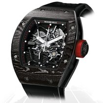 Richard Mille Carbon 49mm Manual winding RM035 NTPT