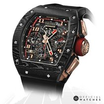 Richard Mille Carbon 50mm Automatic RM011 AO CA NTPT