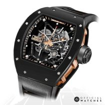 Richard Mille Ceramic Manual winding Transparent No numerals 49mm RM 035