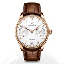 IWC Portuguese Automatic Rose gold 42mm Silver Arabic numerals