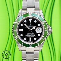 Rolex Submariner Date 16610 LV 2008 occasion