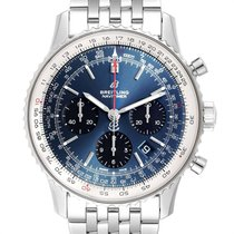 Breitling Navitimer 1 B01 Chronograph 43 Steel 43mm Blue Arabic numerals United States of America, Georgia, Atlanta