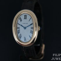 Cartier Baignoire Very good Yellow gold 25mm Manual winding