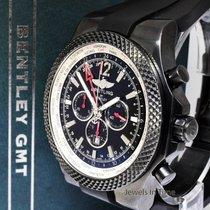 Breitling Bentley GMT Сталь 49mm Чёрный