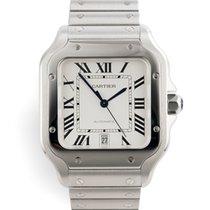 Cartier Santos (submodel) Steel 40mm White Roman numerals