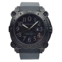 Hamilton Khaki Navy BeLOWZERO Steel 46mm Black United States of America, Indiana, Carmel