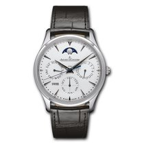 Jaeger-LeCoultre Master Ultra Thin Perpetual Oro blanco 39mm Plata