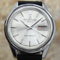 Seiko 5 Sports Steel 37mm Silver United States of America, Connecticut, Darien