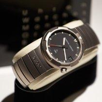 IWC Porsche Design Titanium 34mm Black No numerals