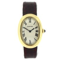 Cartier Baignoire Жёлтое золото 23mm