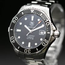TAG Heuer Aquaracer 300M Steel 41mm Black No numerals United States of America, New Jersey, Long Branch