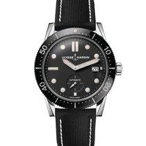 Ulysse Nardin Diver Chronometer Acier 42,2mm Noir Sans chiffres