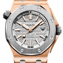 Audemars Piguet Royal Oak Offshore Diver Roségold 42mm Grau