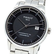 Tissot Luxury Automatic rabljen 41mm Crn Zeljezo
