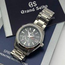 Seiko Steel Seiko 2018 Grand Seiko Spring Drive GMT SBGE211 MINT B&P pre-owned New Zealand, Auckland