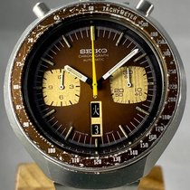 Seiko Bullhead Steel 44mm Brown No numerals