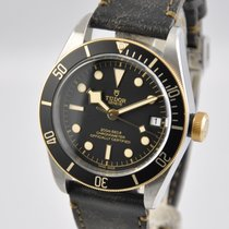 Tudor Black Bay S&G Gold/Steel 41mm Black No numerals United States of America, Ohio, Mason