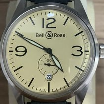 Bell & Ross Steel 41mm Automatic BR123 pre-owned Singapore, Singapore