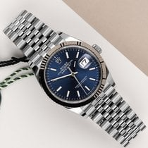 Rolex Datejust Arany/Acél 36mm Kék