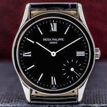 Patek Philippe Calatrava Platinum 33mm Black Roman numerals United States of America, Massachusetts, Boston