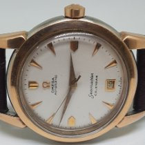 Omega Seamaster Gold/Steel 34mm White No numerals India, MUMBAI