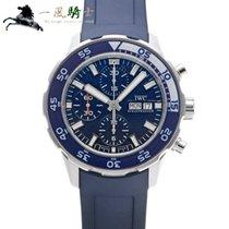 IWC Aquatimer Chronograph Stahl 44mm Blau