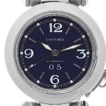 Cartier Pasha C Stahl 35mm Blau Arabisch Deutschland, Koblenz
