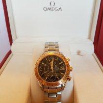 Omega Speedmaster Date Or/Acier Noir