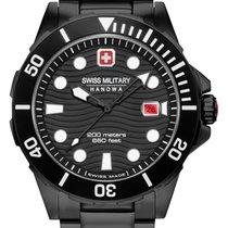 Swiss Military Acier Quartz 06-5337.04.007.34 nouveau