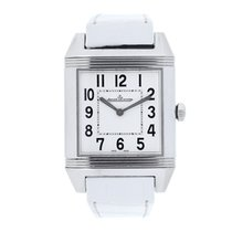 Jaeger-LeCoultre Reverso Squadra Lady Stahl 31mm Silber Arabisch