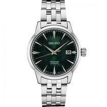 Seiko Presage Steel 40.5mm Green United States of America, Florida, Sarasota