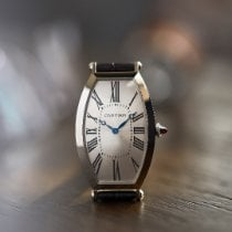 Cartier Tonneau 1917 MC Очень хорошее Платина 46.1mm Механические