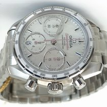 Omega Speedmaster Steel 38mm White No numerals