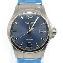 Longines Conquest Steel 43mm Blue United States of America, New York, New York