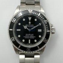 Rolex Sea-Dweller 4000 Acero 40mm Negro Sin cifras