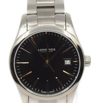 Longines Conquest Classic Steel 34mm Black United States of America, New York, New York