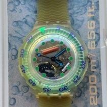 Swatch 38.4mm Quartzo SDK107 novo