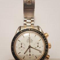 Omega Speedmaster Reduced Gold/Steel 39 mmmm White No numerals