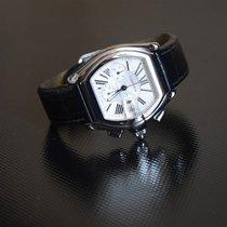 Cartier подержанные Автоподзавод 40mm Белый Сапфировое стекло 10 атм