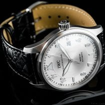 IWC Pilot Mark occasion 39mm Argent Date Cuir