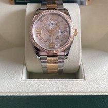 Rolex Datejust 116243-0008 Muito bom Ouro/Aço 36mm Automático