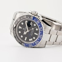 Rolex GMT-Master II Steel 40mm Black No numerals United States of America, New Jersey, Oradell